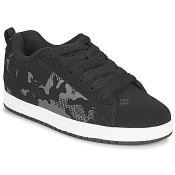 kengät Miehet Skeittikengät DC Shoes COURT GRAFFIK Musta