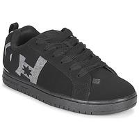 kengät Miehet Skeittikengät DC Shoes COURT GRAFFIK Black / Grey