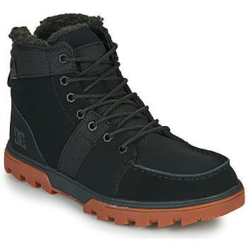 kengät Miehet Bootsit DC Shoes WOODLAND Musta