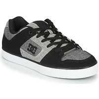 kengät Miehet Matalavartiset tennarit DC Shoes PURE Black / Grey