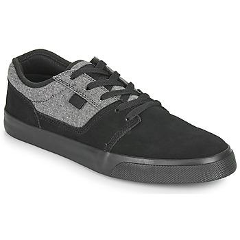 kengät Miehet Matalavartiset tennarit DC Shoes TONIK SE Musta / Harmaa