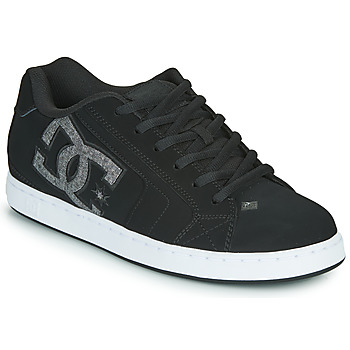 kengät Miehet Matalavartiset tennarit DC Shoes NET Black / Grey