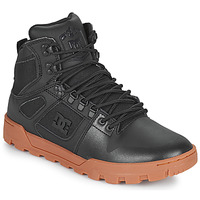 kengät Miehet Korkeavartiset tennarit DC Shoes PURE HIGH TOP WR BOOT Musta