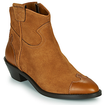 kengät Naiset Nilkkurit See by Chloé VEND Cognac