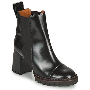 kengät Naiset Nilkkurit See by Chloé TRINIDAD Musta