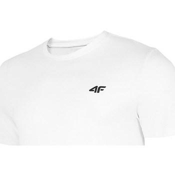 vaatteet Miehet Lyhythihainen t-paita 4F TSM003 Valkoiset
