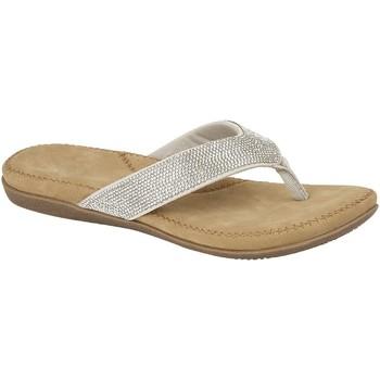 kengät Naiset Varvassandaalit Cipriata  Silver