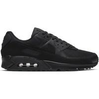 kengät Miehet Matalavartiset tennarit Nike Air Max 90 Mustat