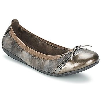 kengät Naiset Balleriinat Les P'tites Bombes CAPRICE METAL Grey