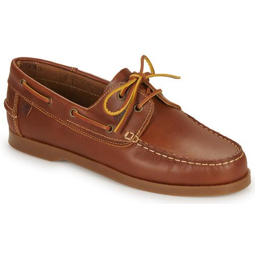 kengät Miehet Purjehduskengät Casual Attitude REVORO Brown