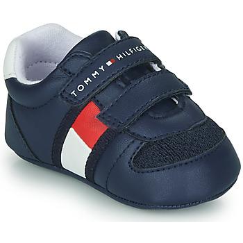 kengät Lapset Matalavartiset tennarit Tommy Hilfiger T0B4-30191 Sininen