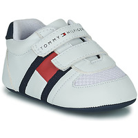 kengät Lapset Matalavartiset tennarit Tommy Hilfiger T0B4-30191 White