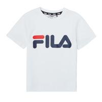 vaatteet Lapset Lyhythihainen t-paita Fila LEA White
