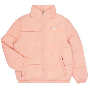 vaatteet Tytöt Toppatakki Fila STORM Vaaleanpunainen