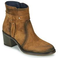 kengät Naiset Nilkkurit Dorking AMBRA Ruskea