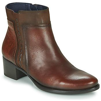 kengät Naiset Nilkkurit Dorking ALEGRIA Brown