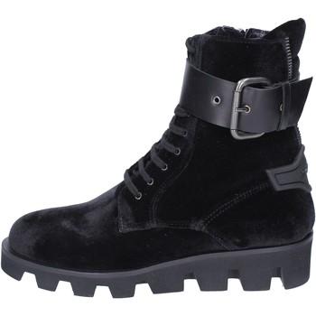 kengät Naiset Nilkkurit Roberto Botticelli BM116 Musta