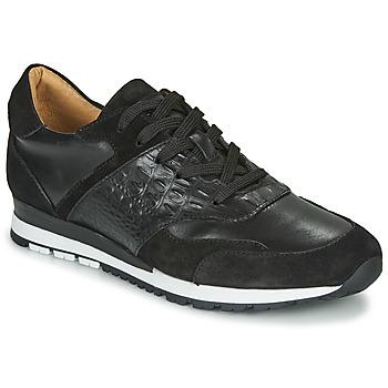 kengät Miehet Matalavartiset tennarit Brett & Sons SUZI Black