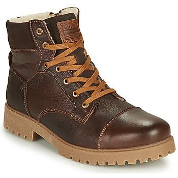 kengät Pojat Bootsit Bullboxer ALL518E6LA-BRWN Brown