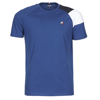 vaatteet Miehet Lyhythihainen t-paita Le Coq Sportif ESS TEE SS N°10 M Blue