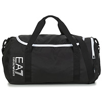 laukut Urheilulaukut Emporio Armani EA7 TRAIN CORE U GYM BAG SMALL Black / White