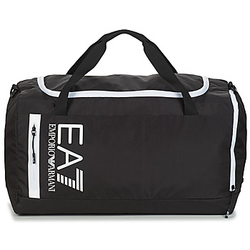 laukut Urheilulaukut Emporio Armani EA7 TRAIN CORE U GYM BAG Black / White