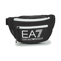 laukut Vyölaukku Emporio Armani EA7 TRAIN CORE U SLING BAG Black / White
