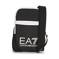 laukut Miehet Pikkulaukut Emporio Armani EA7 TRAIN CORE U MINI POUCH BAG Black / White