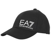 Asusteet / tarvikkeet Miehet Lippalakit Emporio Armani EA7 TRAIN CORE ID M LOGO CAP Black