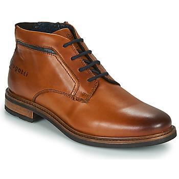 kengät Miehet Bootsit Bugatti NELS Ruskea