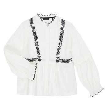 vaatteet Tytöt Paitapusero / Kauluspaita Ikks XR12022 White