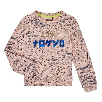 vaatteet Tytöt Svetari Ikks XR15022 Vaaleanpunainen