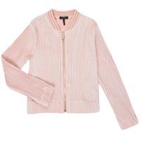 vaatteet Tytöt Neuleet / Villatakit Ikks XR17022 Vaaleanpunainen