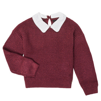 vaatteet Tytöt Neulepusero Ikks XR18062 Viininpunainen