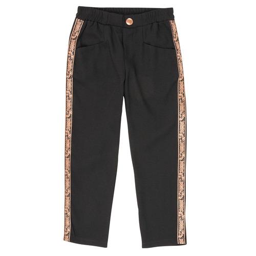 vaatteet Tytöt 5-taskuiset housut Ikks XR22012 Black