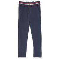 vaatteet Tytöt 5-taskuiset housut Ikks XR23002 Sininen