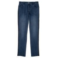 vaatteet Tytöt Slim-farkut Ikks XR29062 Sininen