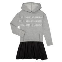 vaatteet Tytöt Lyhyt mekko Ikks XR30112 Grey