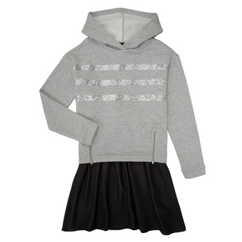 vaatteet Tytöt Lyhyt mekko Ikks XR30112 Harmaa
