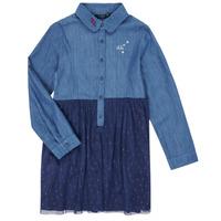 vaatteet Tytöt Lyhyt mekko Ikks XR30122 Sininen