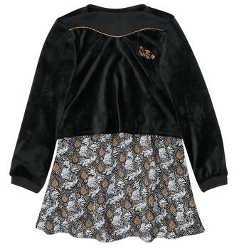 vaatteet Tytöt Lyhyt mekko Ikks XR30162 Musta