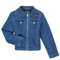 vaatteet Tytöt Farkkutakki Ikks XR40052 Blue
