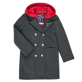 vaatteet Tytöt Paksu takki Ikks XR44012 Grey