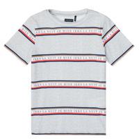 vaatteet Pojat Lyhythihainen t-paita Ikks XR10003 Harmaa