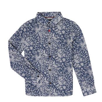 vaatteet Pojat Pitkähihainen paitapusero Ikks XR12023 Blue