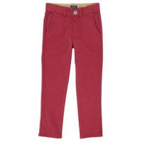 vaatteet Pojat 5-taskuiset housut Ikks XR22093J Punainen