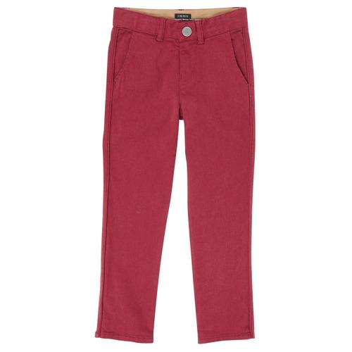 vaatteet Pojat 5-taskuiset housut Ikks XR22093J Red