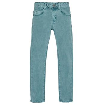 vaatteet Pojat Slim-farkut Ikks XR29013 Green