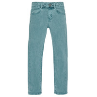 vaatteet Pojat Slim-farkut Ikks XR29013 Vihreä