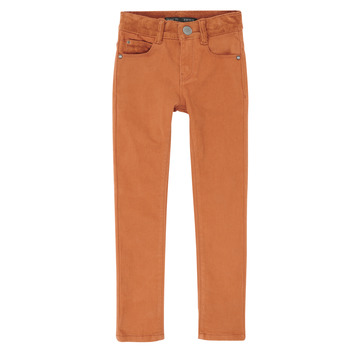 vaatteet Pojat Slim-farkut Ikks XR29013 Brown